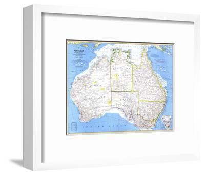1979 Australia Map