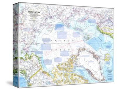 1983 Arctic Ocean Map