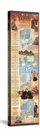 1984 Historical Japan Map