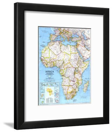 1990 Africa Map