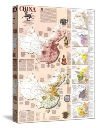 1991 China History Map
