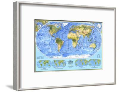 1994 World Physical Map