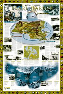 2001 Pearl Harbor by National Geographic Maps