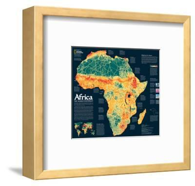 2005 Africa, the Human Footprint Map