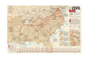 2005 Battles of the Civil War by National Geographic Maps