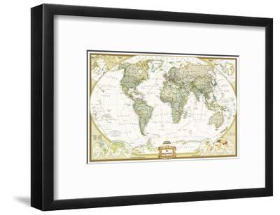 2005 World Executive Spanish Map