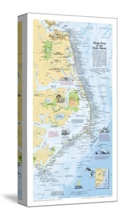2008 Ghost Fleet of the Outer Banks 1970 Map