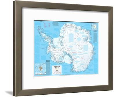 2014 Antarctica Political - National Geographic Atlas of the World, 10th Edition