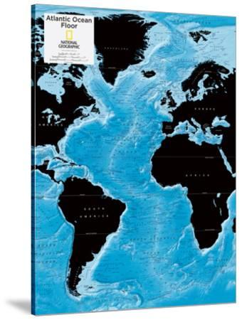 2014 Atlantic Ocean Floor - National Geographic Atlas of the World, 10th Edition by National Geographic Maps