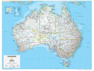 2014 Australia Political - National Geographic Atlas of the World, 10th Edition