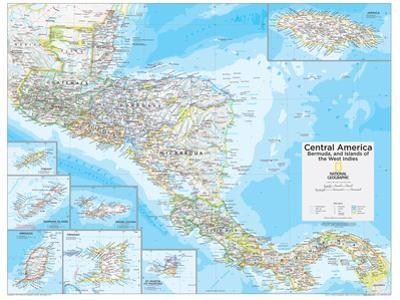 2014 Central America - National Geographic Atlas of the World, 10th Edition by National Geographic Maps