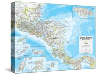2014 Central America - National Geographic Atlas of the World, 10th Edition