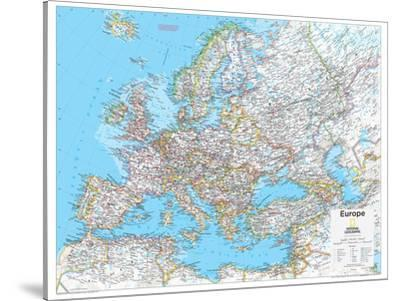 2014 Europe Political - National Geographic Atlas of the World, 10th Edition by National Geographic Maps