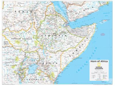 2014 Horn of Africa - National Geographic Atlas of the World, 10th Edition