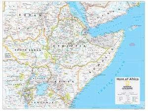 Maps of africa artwork for sale posters and prints at art 2014 horn of africa national geographic atlas of the world 10th edition by national gumiabroncs Images