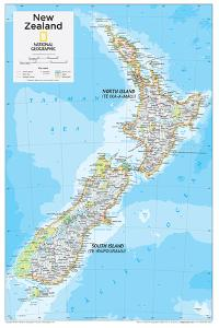 2014 New Zealand - National Geographic Atlas of the World, 10th Edition by National Geographic Maps