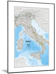 Map of Italy by National Geographic Maps
