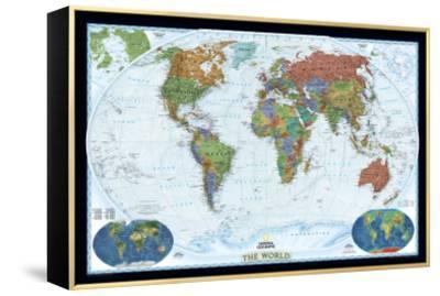World Political Map, Decorator Style