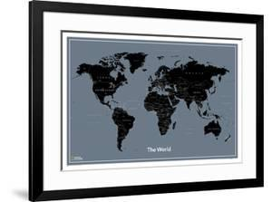 National Geographic Modern World Map