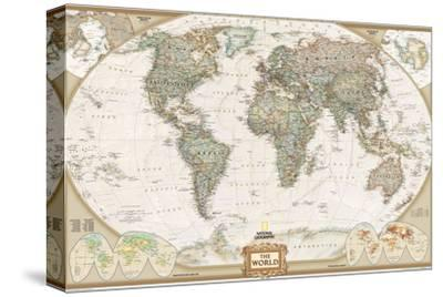 National Geographic - World Executive Map Laminated Poster by National Geographic