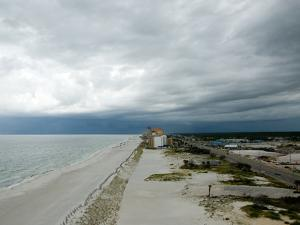 A Storm Rolls in over Gulf Shores, Alabama by National Geographic Photographer