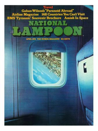 National Lampoon, April 1974 - Travel Issue, Paranoid Abroad