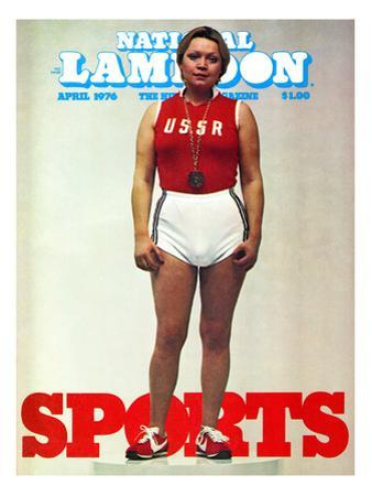 National Lampoon, April 1976 - Sports