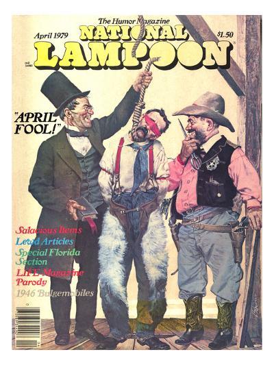 National Lampoon, April 1979 - April Fool--Art Print