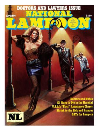 National Lampoon, April 1986 - Doctors and Lawyers Issue