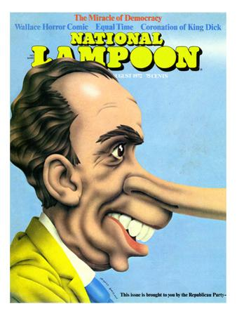National Lampoon, August 1972 - The Miracle of Democracy