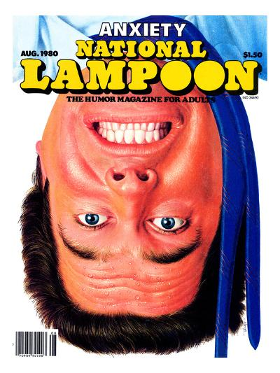 National Lampoon, August 1980 - Anxiety--Art Print