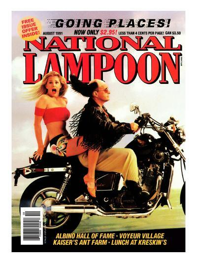 National Lampoon, August 1991 - Going Places--Art Print