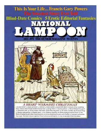 National Lampoon, December 1971 - A Heart-Warming Christmas