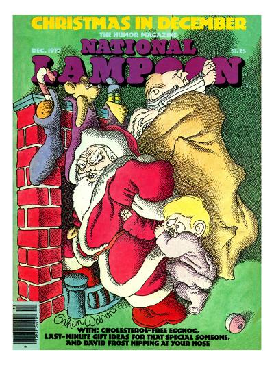 National Lampoon, December 1977 - Christmas in December--Art Print