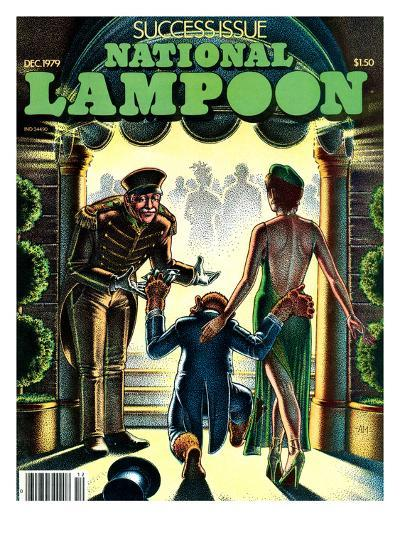 National Lampoon, December 1979 - Success Issue, Monkey with a Hot Date--Art Print