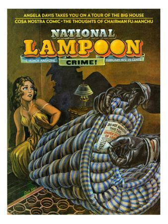 National Lampoon, February 1972 - Crime! Don Not Remove Under Penalty of Law