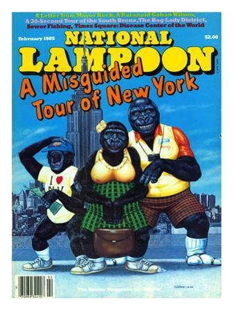 National Lampoon, February 1985 - Misguided Tour of New York