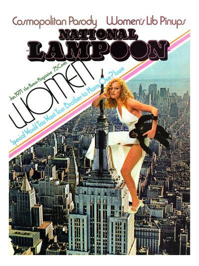 National Lampoon, January 1971 - Cosmopolitan Parody--Art Print