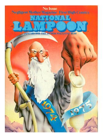 National Lampoon, January 1975 - No Issue