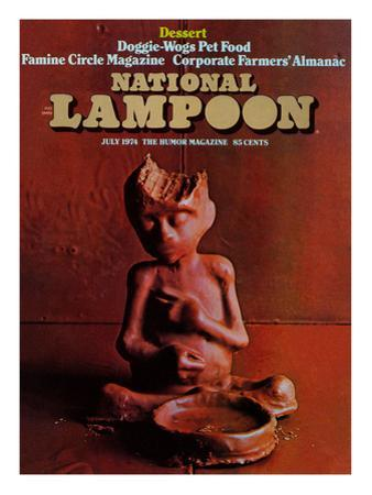National Lampoon, July 1974 - Dessert
