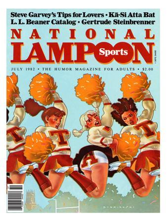 National Lampoon, July 1982 - Revealing Sports