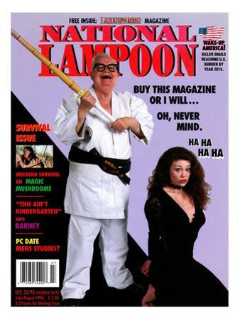 National Lampoon, July and August 1994 - Buy This Magazine Or I Will … Oh, Never Mind.