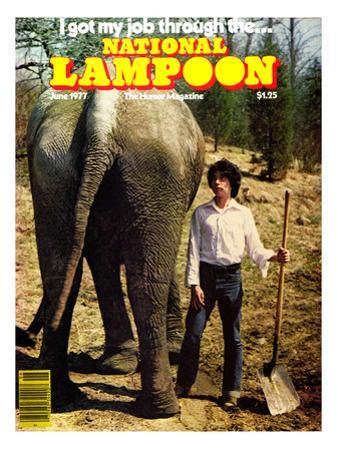National Lampoon, June 1977 - I got my job through the…