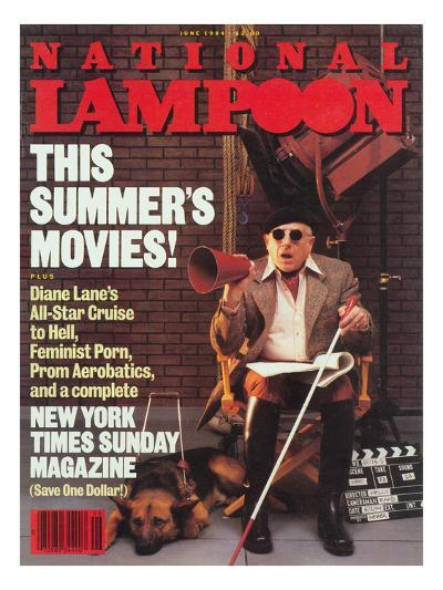 National Lampoon, June 1984 - This Summer's Movies!--Art Print