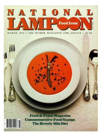National Lampoon, March 1982 - Food Issue
