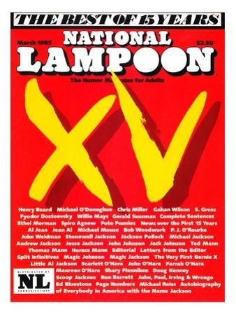 National Lampoon, March 1985 - The Best of 15 Years