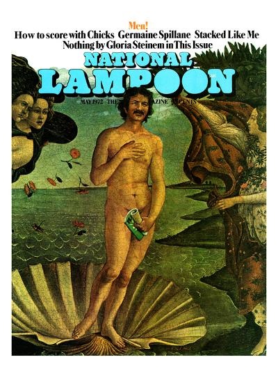 National Lampoon, May 1972 - Venus as a Man, How to Score with Chicks--Art Print