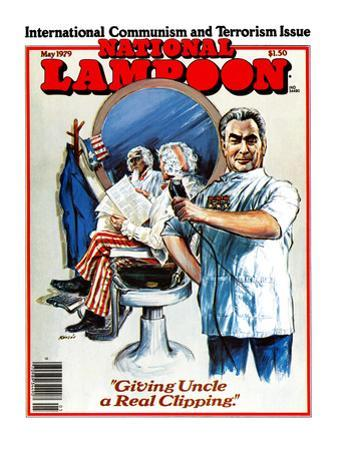 "National Lampoon, May 1979 - International Communism and Terrorism Issue, ""Giving Uncle a Real Clip"