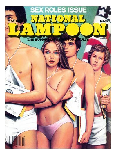 National Lampoon, May 1980 - Sex Roles Issue--Art Print