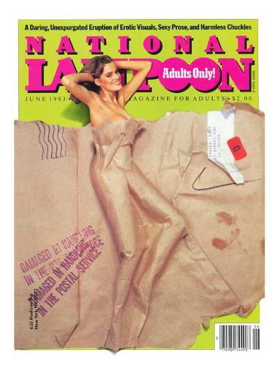 National Lampoon, May 1983 - Packaged for Adults Only--Art Print